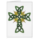 Celtic Cross Gift Greeting Card