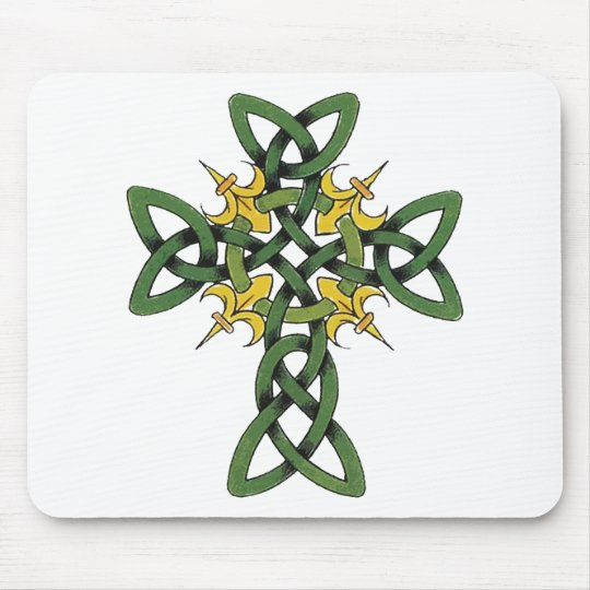 Celtic Cross Gift Mouse Pad