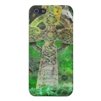 Celtic Cross Gravestone iPhone 5 Case