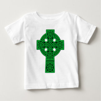 Celtic Cross green Baby T-Shirt