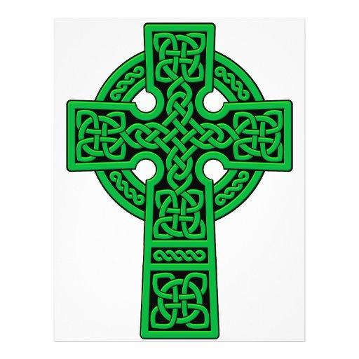 Celtic Cross green Flyer