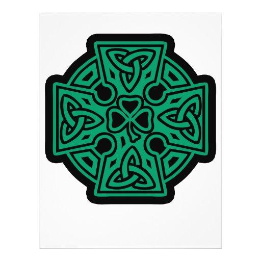 Celtic Cross II Personalized Flyer