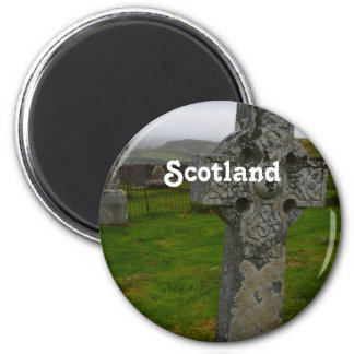 Celtic Cross in Scotland Magnet