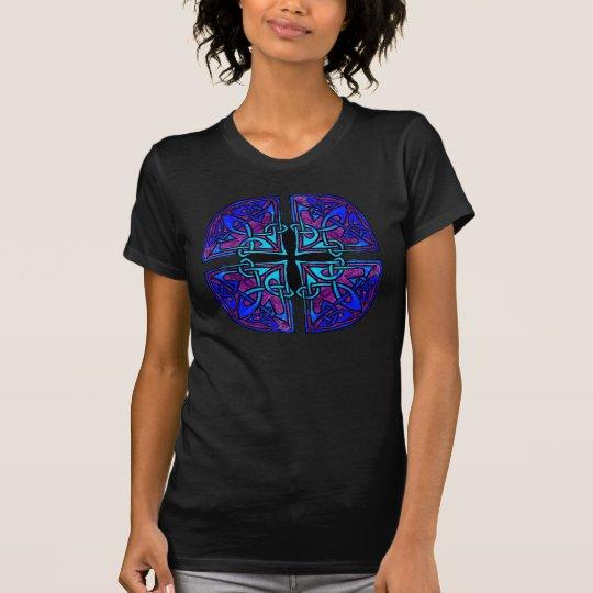 Celtic Cross Knot (blue shade) T-Shirt