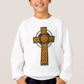 Celtic Cross (long, colour) Sweatshirt