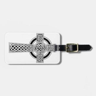 Celtic Cross Luggage Tag