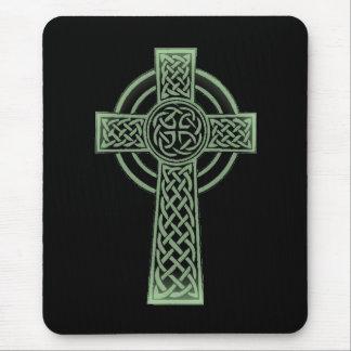 Celtic cross mouse mat