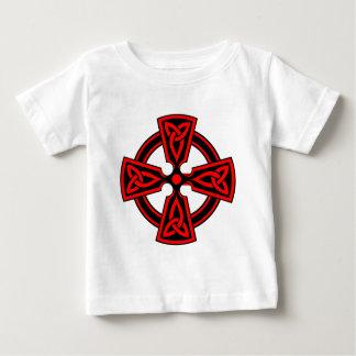 Celtic Cross (red) Baby T-Shirt