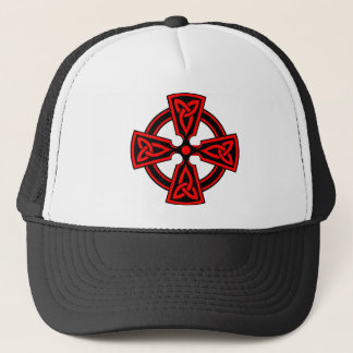 Celtic Cross (red) Trucker Hat