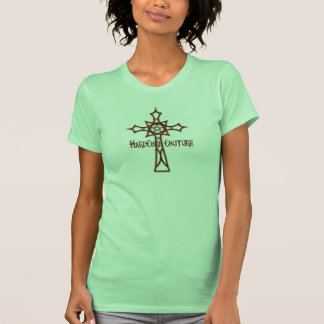 Celtic Cross Red T-shirts