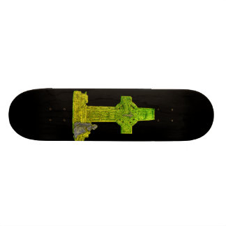 Celtic Cross Skateboard Deck