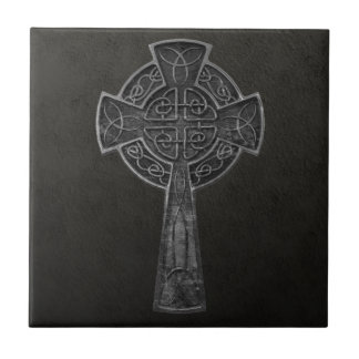 Celtic Cross Small Square Tile