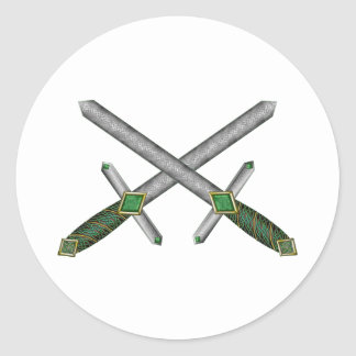 Celtic Daggers Sticker