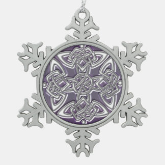 Celtic Dara Knot Christmas Ornament
