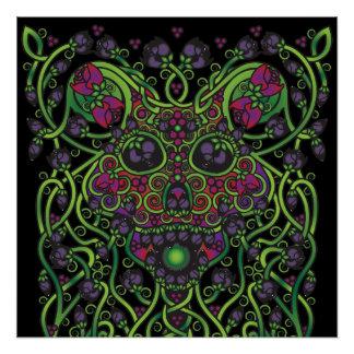 Celtic Day of the Dead Skull