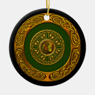 Celtic Design Christmas Ornament