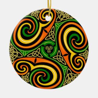 Celtic Design Christmas Ornament