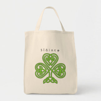 Celtic Design Shamrock St. Patrick's Day Slainte