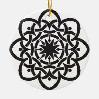 Celtic Design single-sided Christmas Ornament
