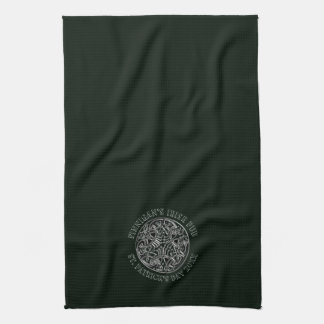 Celtic Design St. Patrick's Day Bar or Tea Towel