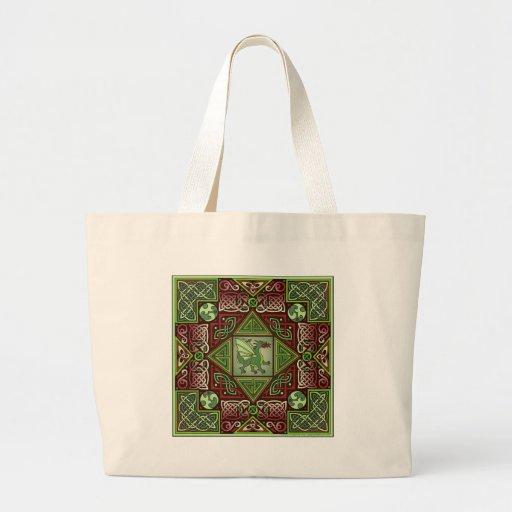 Celtic Dragon Labyrinth Bag