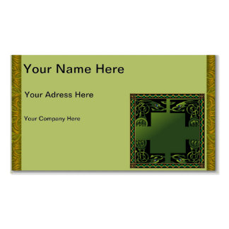 Celtic Dragon Pack Of Standard Business Cards