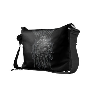 Celtic Dragon Rickshaw Messenger Bag