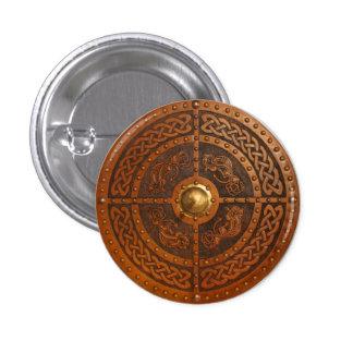 Celtic Dragon Targe 3 Cm Round Badge
