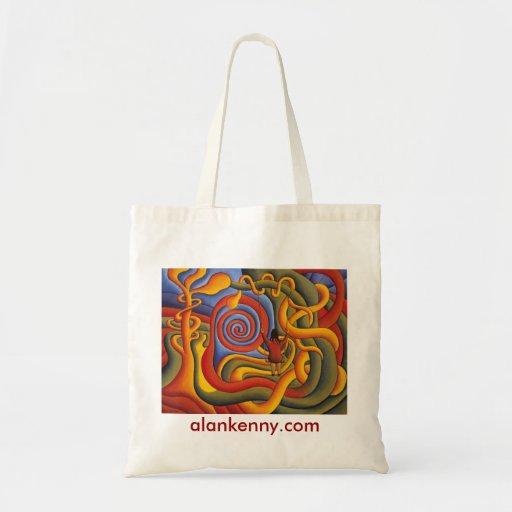 Celtic Dream, alankenny.com Tote Bags