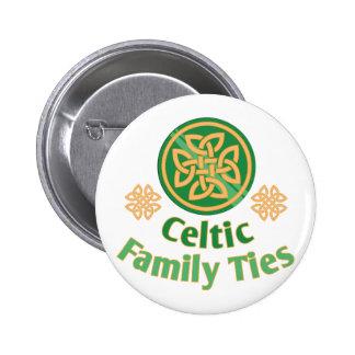 Celtic Family 6 Cm Round Badge
