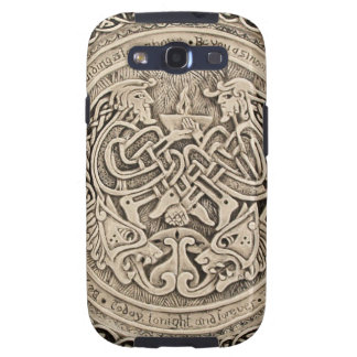 CELTIC FLAME -VINTAGE CELTIC DESIGN GALAXY SIII COVER