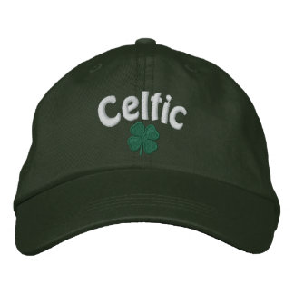 Celtic  - Four Leaf Clover - Customized Embroidered Hat
