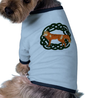 Celtic Fox Dog T Shirt