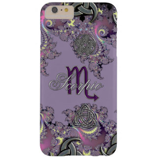Celtic Fractal Zodiac Sign Scorpio iPhone 6 Case Barely There iPhone 6 Plus Case