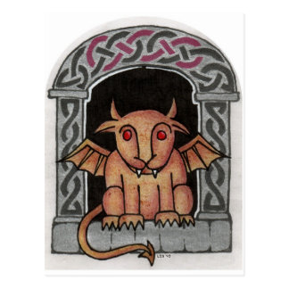 Celtic Gargoyle postcard