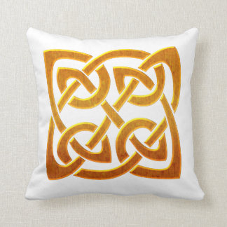 Celtic Golden D2 Irish Celtic Design Cushions