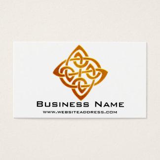 Celtic Golden Symbol 2 Elegant Business Cards