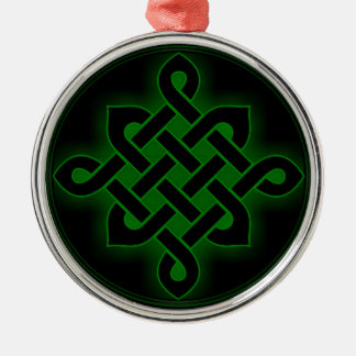 celtic green knot mystic viking symbol spiritual p christmas ornament