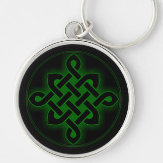celtic green knot mystic viking symbol spiritual p key ring