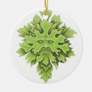 Celtic Green-Man Ornament