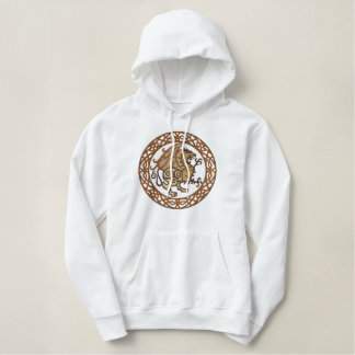 Celtic Gryphon Embroidered Hoodie