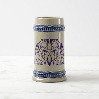 Celtic Half Moon 18 Oz Beer Stein