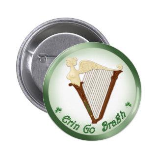 Celtic Harp Buttons