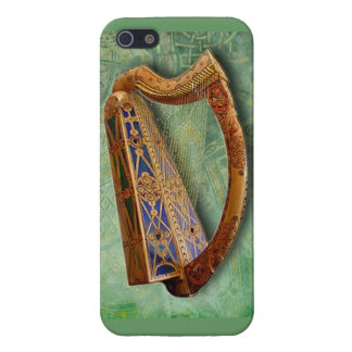 Celtic Harp Iphone CASE Case For iPhone 5/5S
