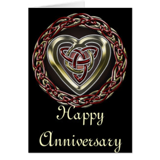 Celtic Heart Card