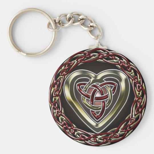 Celtic Heart Keychain