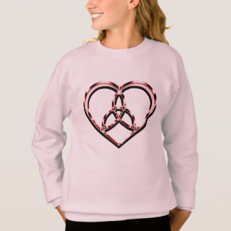 celtic heart sweatshirt