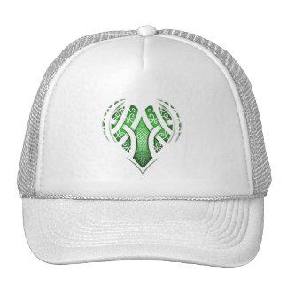 Celtic Heart Tattoo Design Cap