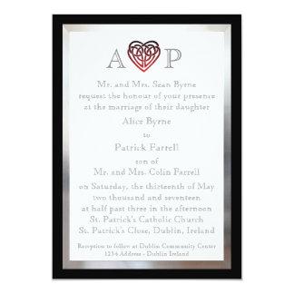 Celtic Heart - Wedding invitation
