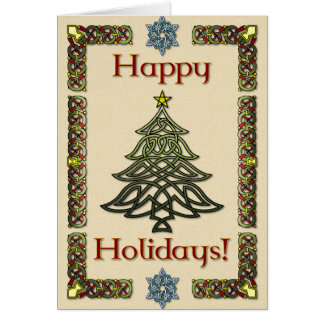 Celtic Holiday Card